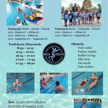 Nyári úszásoktatás – információk